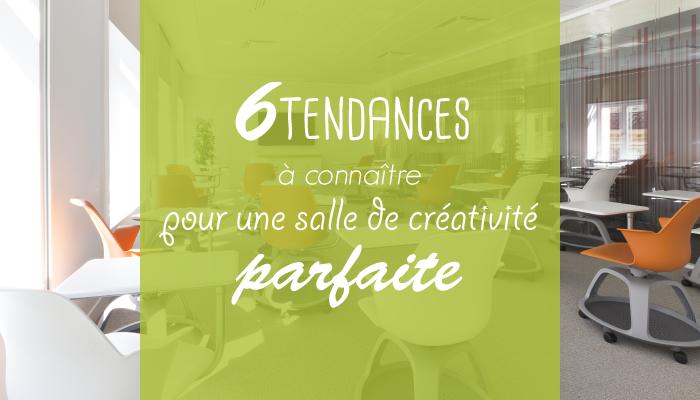 les 6 tendances des salles de créativité