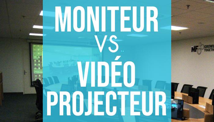 Moniteurs VS Vidéoprojecteurs : Motilde vous aide à faire votre choix